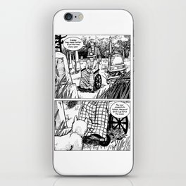 Johnny Public chapter 10, page 1 iPhone Skin