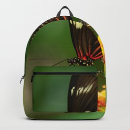 Red Postman Butterfly Backpack