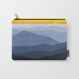 Blue Ridge Bright Sunset Carry-All Pouch