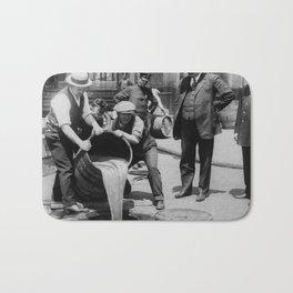 Booze Dump - Vintage Prohibition Photo Bath Mat