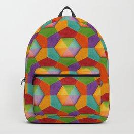 Geometric Rainbows Backpack