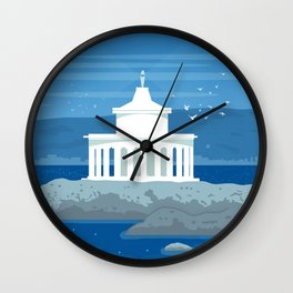 Cephalonia(GR), The lantern at Argostoli Wall Clock