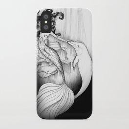 Playful Mermaid iPhone Case