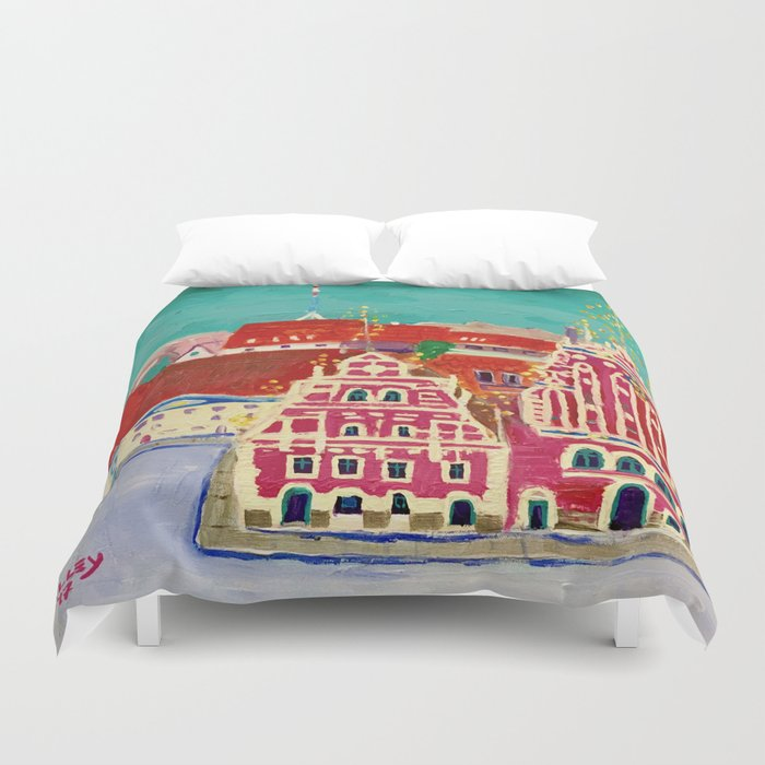 Expression Blackheads Duvet Cover