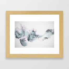 Abstract Alcohol Ink 6248 Framed Art Print