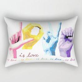 Love is love Rectangular Pillow