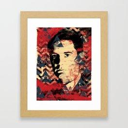TVVIN PEAKS : Cooper Framed Art Print