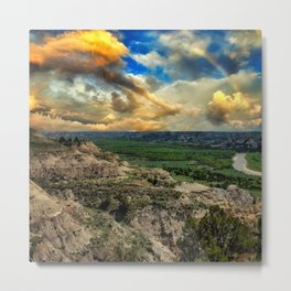 Theodore Roosevelt National Park,ND Metal Print