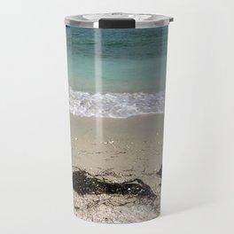 Obligatory Beach Scene Travel Mug