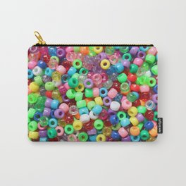 Rainbow beads! Decora fun! Carry-All Pouch