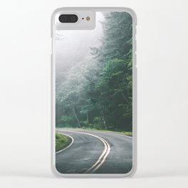 Through The Tunnel Clear iPhone Case