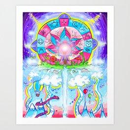 Brand New Cycle Art Print