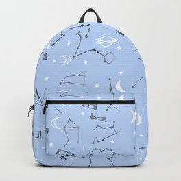 Astrology Pattern Blue #homedecor Backpack