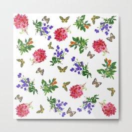 Botanical Mix Metal Print