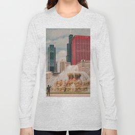 Fountain View Long Sleeve T-shirt