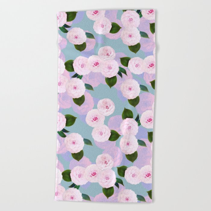 The Camellia Theory Beach Towel