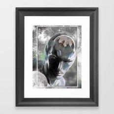 FF Surfer Framed Art Print