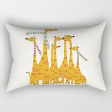 giraffe do disco Rectangular Pillow