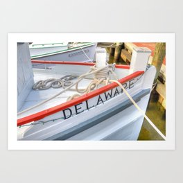 The Delaware Art Print