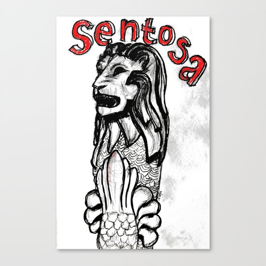 sentosa Canvas Print