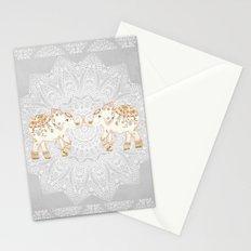 ALHAMBRA ELEPHANT GREY by Monika Strigel Stationery Cards