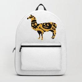 Halloweeen llamam Backpack
