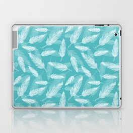 Seamless feathers pattern Laptop & iPad Skin