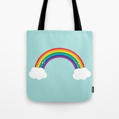 Sparkly Rainbow Tote Bag