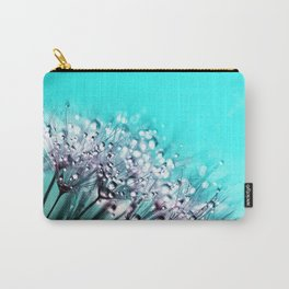 Dandelion With Water Crystals Carry-All Pouch