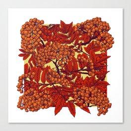 Leaves II Canvas Print