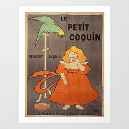 Vintage poster - Le Petit Coquin Art Print