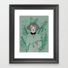 Jen Framed Art Print