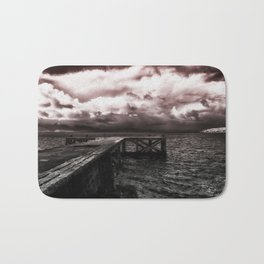 The Oncoming Storm Bath Mat