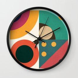 Roud Flow No. 5 Wall Clock