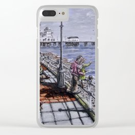 Penarth Seafront Clear iPhone Case