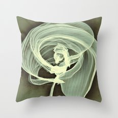 A Smooth Awakening Throw Pillow