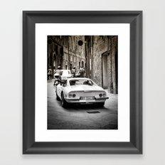 Ferrari Gino GT246 Framed Art Print