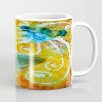 faith Mugs featuring Faith  by kathleentennant