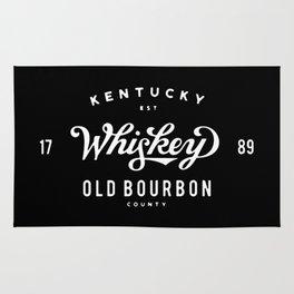 Old Bourbon Whiskey Rug