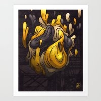 Abstract Forms #8 Art Print
