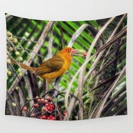 Acari-banana - fauna & flora line Wall Tapestry