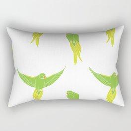 Wild Parrots of East Austin Rectangular Pillow