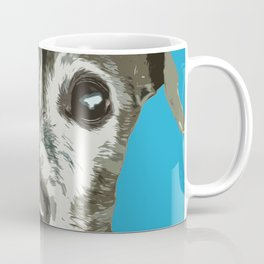 Italian greyhound pop art Coffee Mug