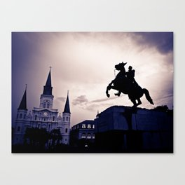 The rising south... Canvas Print