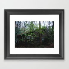 Quiet Sunday Framed Art Print