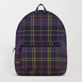 Purple Tartan Backpack