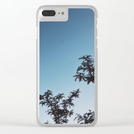 Golden Hour Sky Clear iPhone Case