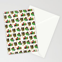Velvet The Curious Cat - Christmas Stationery Cards