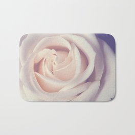 An Offering White Rose Bath Mat