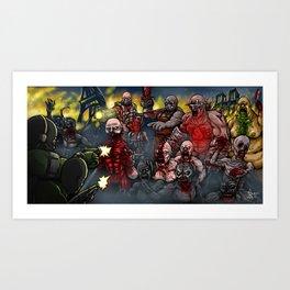 Killing Floor 2 Art Print